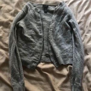Gray Cashmere Sweater